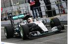 Lewis Hamilton - Mercedes - Formel 1-Test - Barcelona - 22. Februar 2016