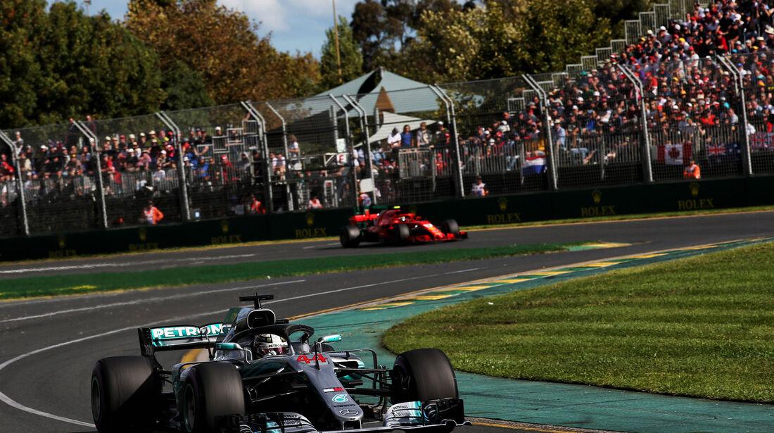 Lewis Hamilton - Mercedes - GP Australien 2018 - Melbourne - Rennen