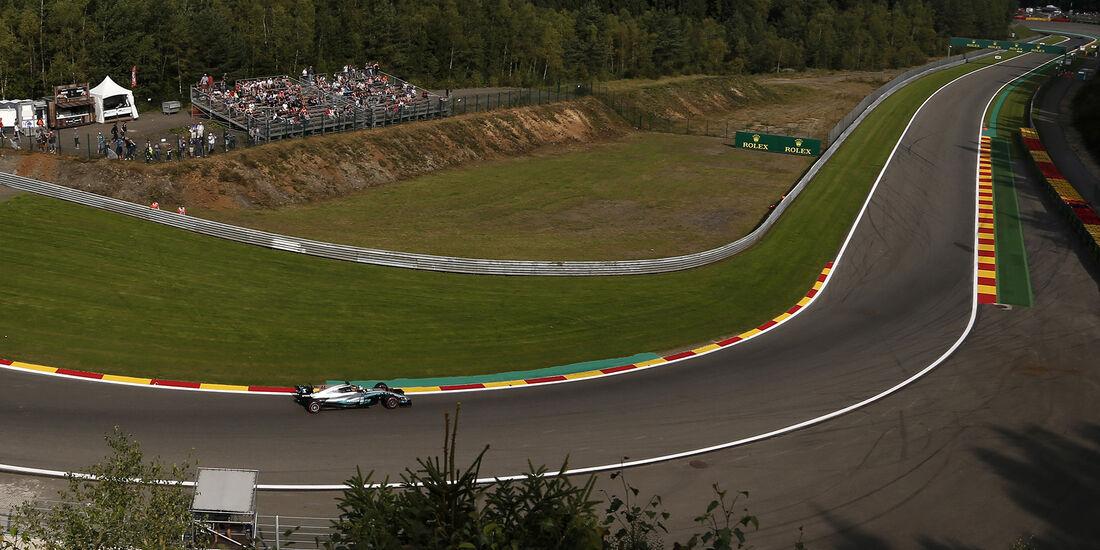 Lewis Hamilton - Mercedes - GP Belgien - Spa-Francorchamps - Formel 1 - 25. August 2017