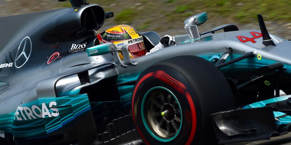Lewis Hamilton - Mercedes -  GP China 2017 - Qualifying - 8.4.2017