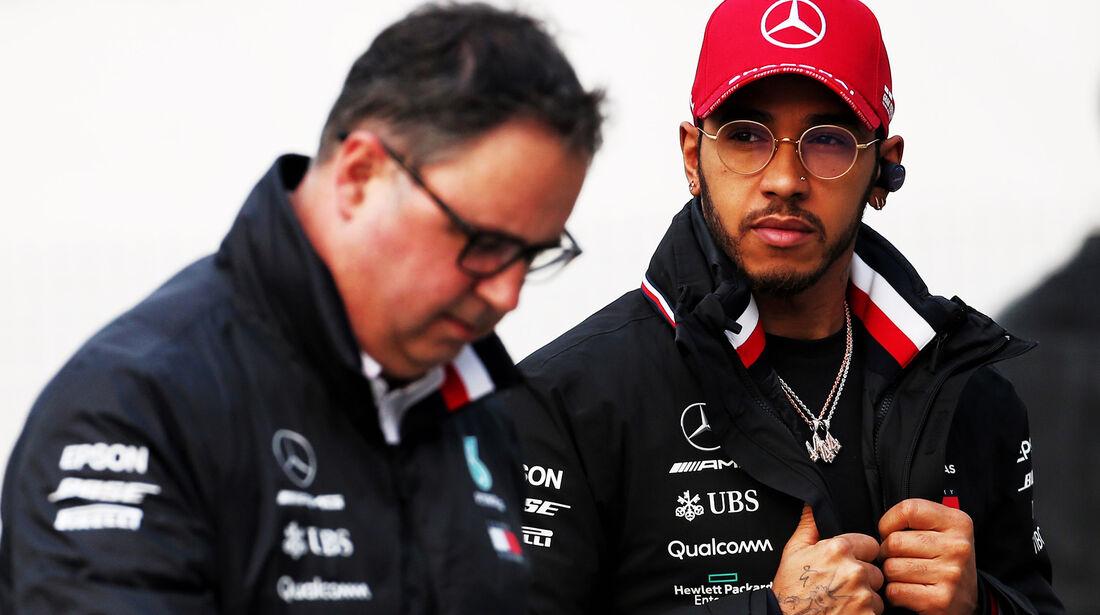Lewis Hamilton - Mercedes - GP China - Shanghai - Formel 1 - Freitag - 12.4.2019