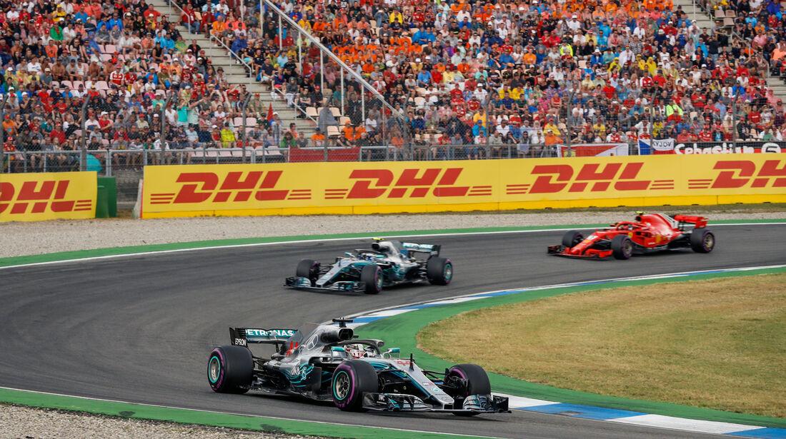 Lewis Hamilton - Mercedes - GP Deutschland 2018 - Rennen