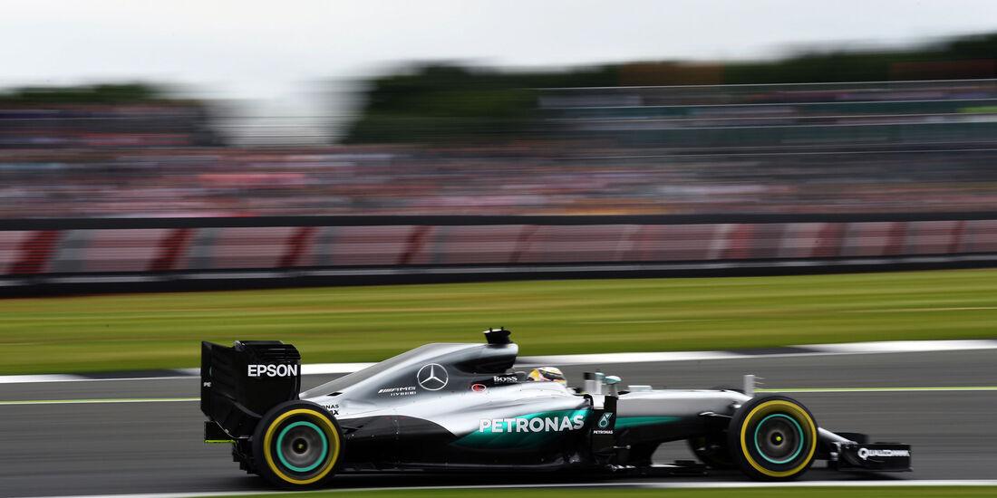 Lewis Hamilton - Mercedes - GP England - Silverstone - Qualifying - Samstag - 9.7.2016