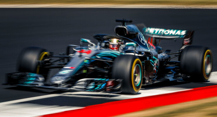 Lewis Hamilton - Mercedes - GP England