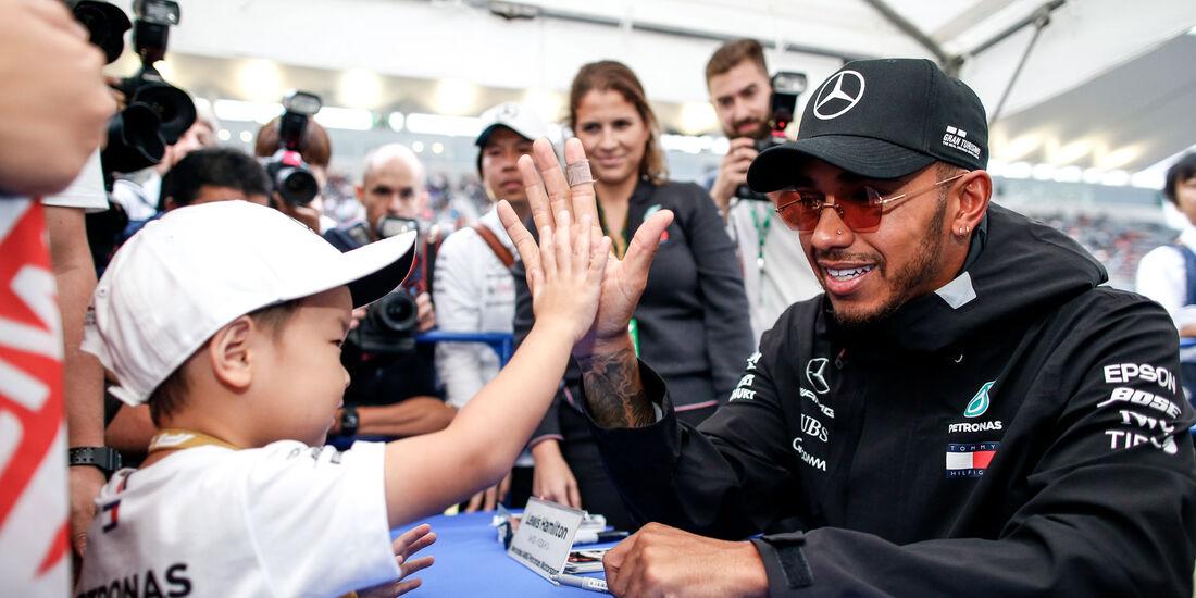 Lewis Hamilton - Mercedes - GP Japan 2018