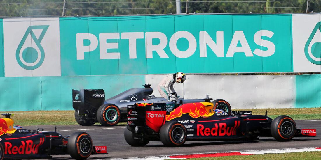 Lewis Hamilton - Mercedes - GP Malaysia 2016 - Sepang