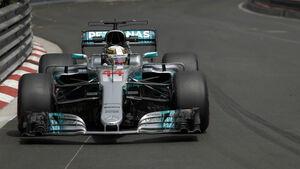 Lewis Hamilton - Mercedes - GP Monaco - Formel 1 - 25. Mai 2017