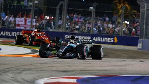 Lewis Hamilton - Mercedes - GP Singapur 2018