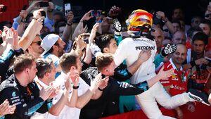 Lewis Hamilton - Mercedes - GP Spanien - Formel 1 - 14. Mai 2017