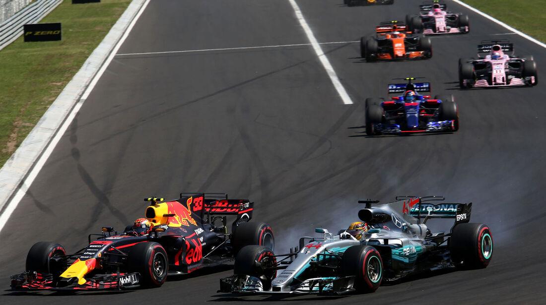Lewis Hamilton - Mercedes - GP Ungarn 2017 - Budapest - Rennen