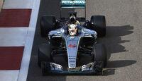 Lewis Hamilton - Mercedes - Pirelli-Test - Abu Dhabi
