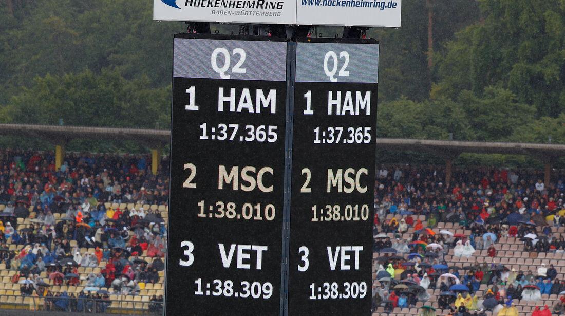 Lewis Hamilton & Michael Schumacher - GP Deutschland 2012