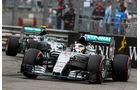 Lewis Hamilton - Nico Rosberg - Formel 1 - GP Monaco 2015