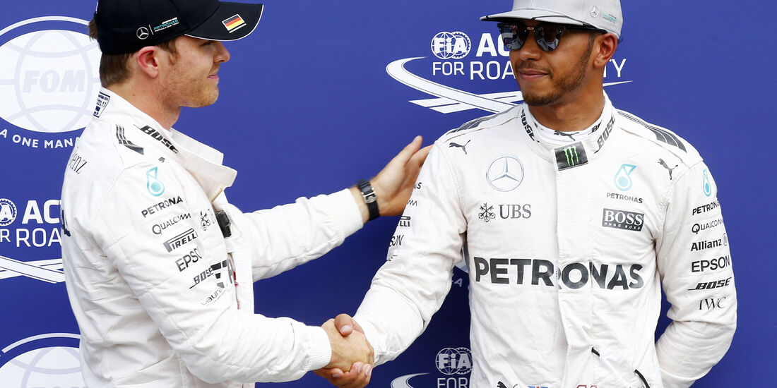 Lewis Hamilton - Nico Rosberg - Mercedes  - Formel 1 - GP Deutschland - 30. Juli 2016