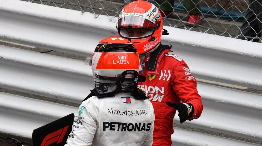 Lewis Hamilton - Sebastian Vettel - Formel 1 - GP Monaco - 26. Mai 2019