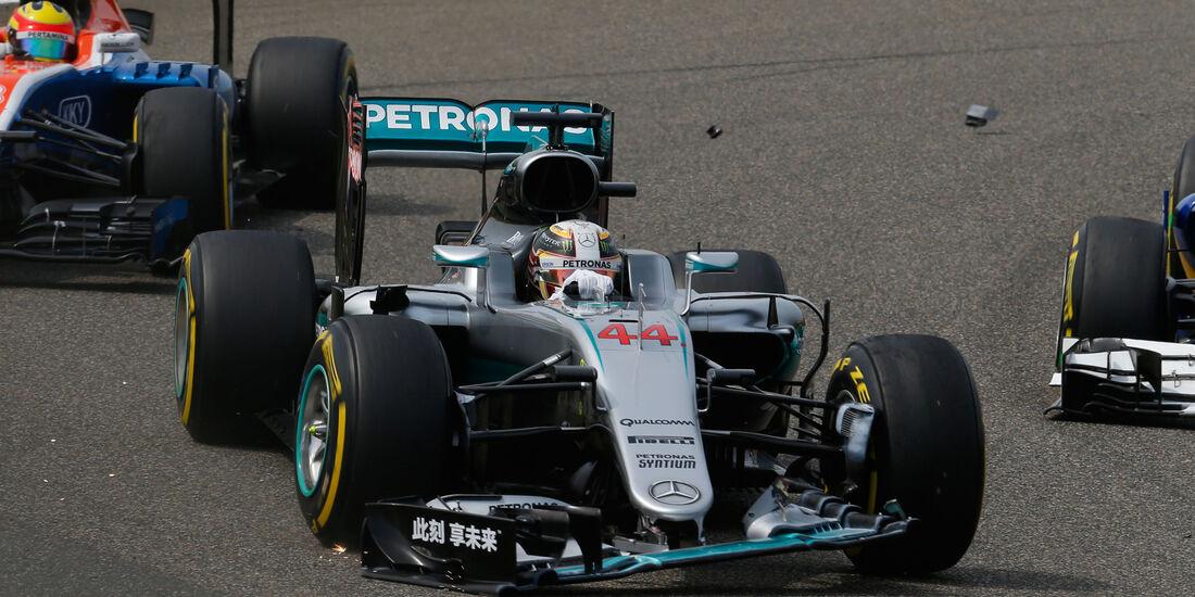 Lewis Hamilton - Statistik - GP China 2016