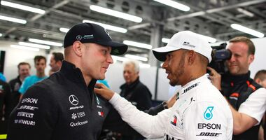Lewis Hamilton - Valtteri Bottas - Mercedes - Formel 1 - GP Aserbaidschan - 29. April 2018