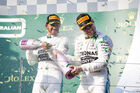 Lewis Hamilton - Valtteri Bottas - Mercedes - GP Australien 2019
