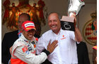 Lewis Hamiltons erster Sieg in Monaco 2008