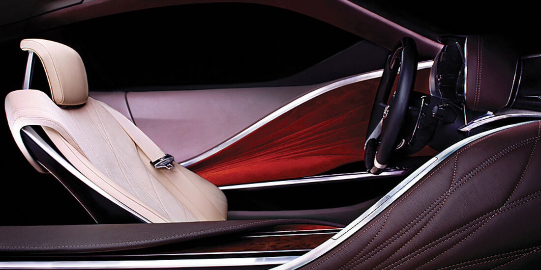 Lexus Concept Car Detroit Motor Show 2012, Innenraum