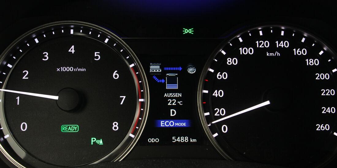 Lexus GS 450h F-Sport, Rundelemente