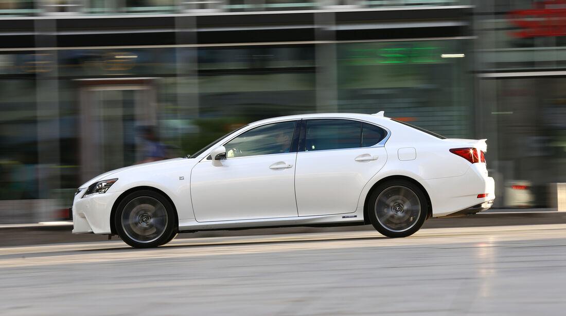 Lexus GS 450h F-Sport, Seitenansicht