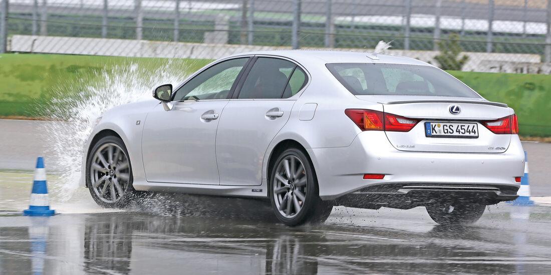 Lexus GS 450h, Schachbrett, Bremsen