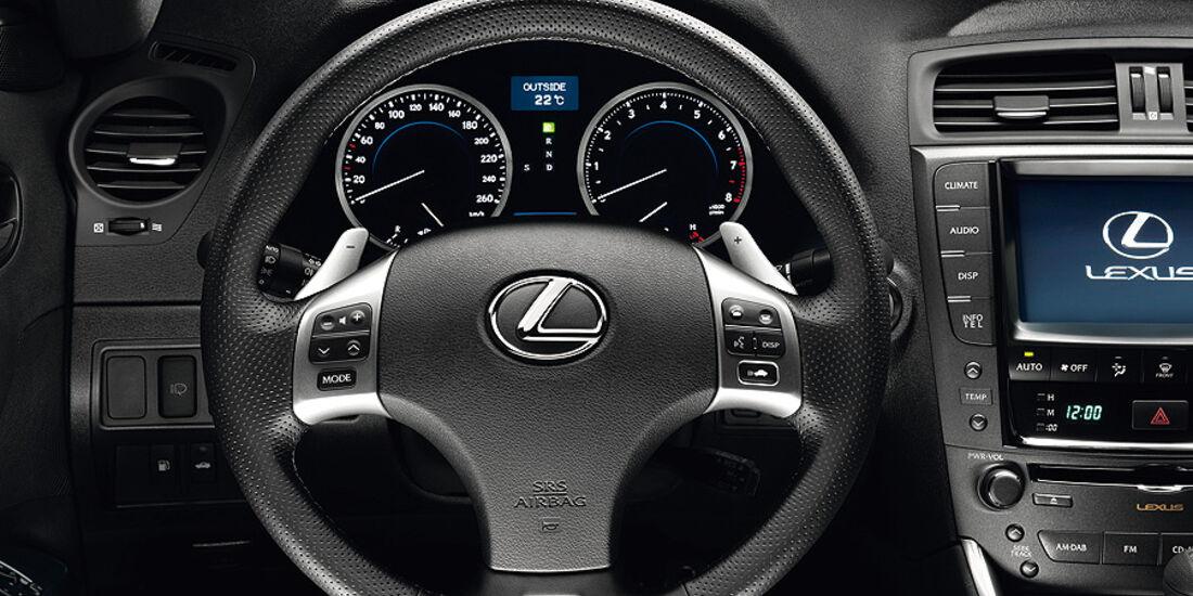 Lexus IS F Modelljahr 2011, Cockpit