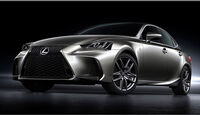 Lexus IS Facelift 2016