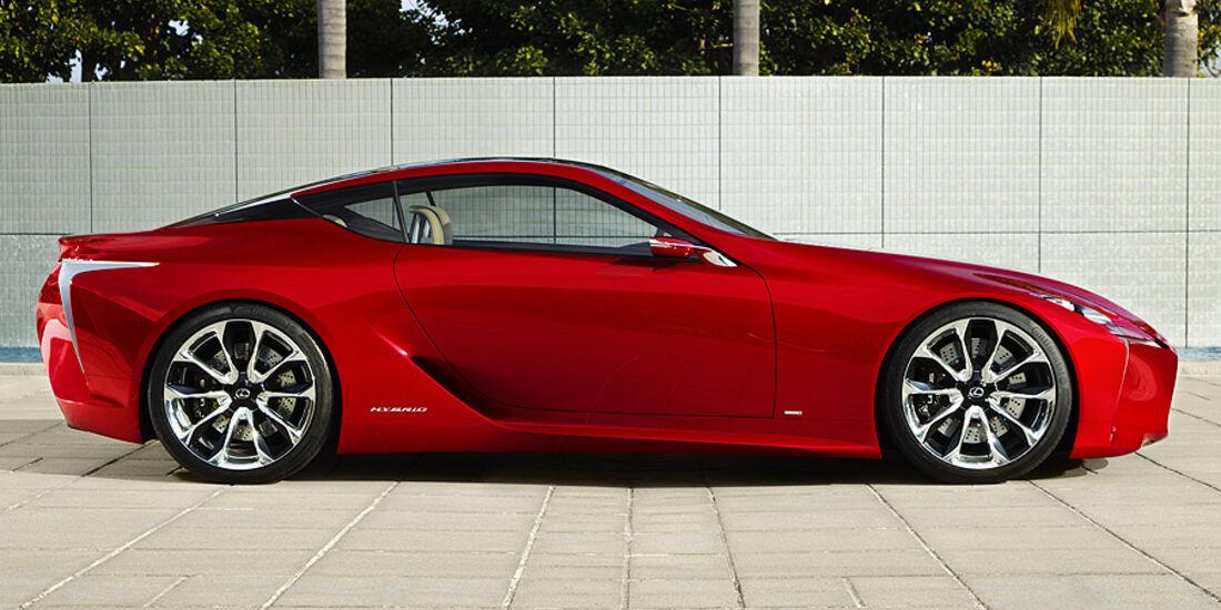 Lexus LF-LC Studie Detroit 2012