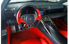 Lexus LFA, Innenraum