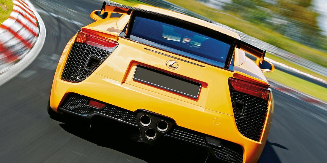 Lexus LFA Nürburgring Edition, Heckansicht