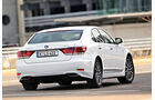 Lexus LS 600h F-Sport, Heckansicht