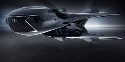 Lexus QZ 618 Galactic Enforcer Concept Jet MIB Men in Black