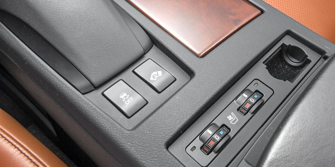 Lexus RX 450h, Bedienelemente