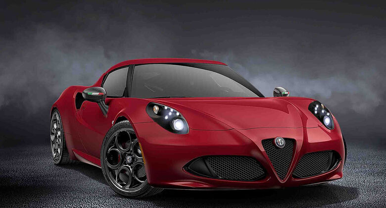 Limited Edition Alfa Romeo 4C Coupé Rosso Forte