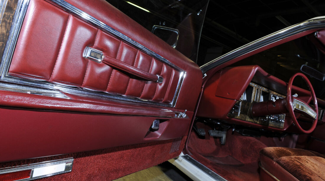Lincoln Continental Mark V, Detail, Tür