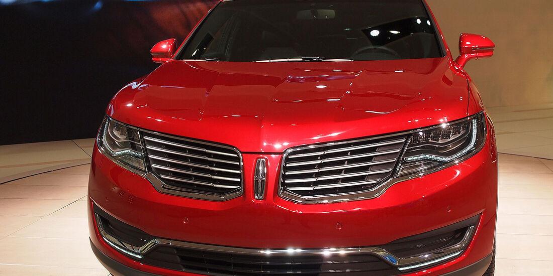 Lincoln MKX Detroit 2015