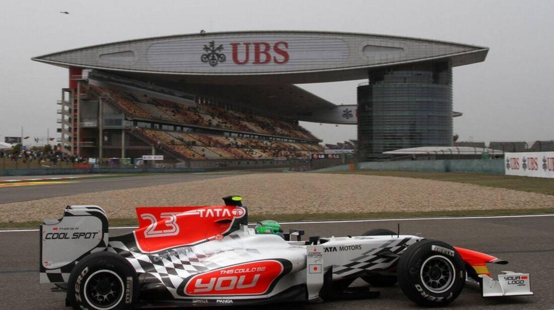Liuzzi Formel 1 GP China 2011