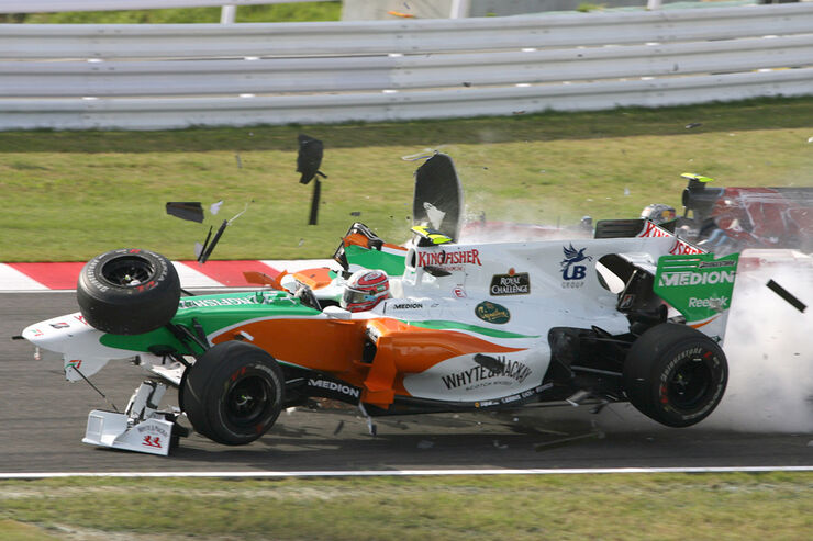 Liuzzi Massa GP Japan