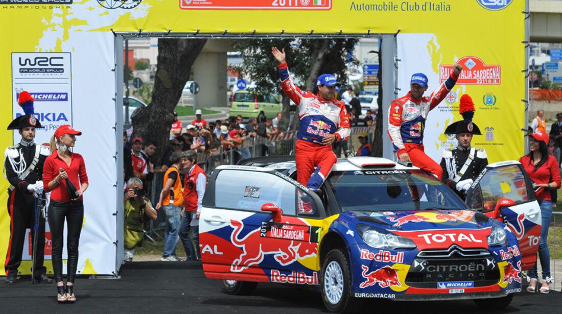 Loeb WRC Rallye Sardinien 2011