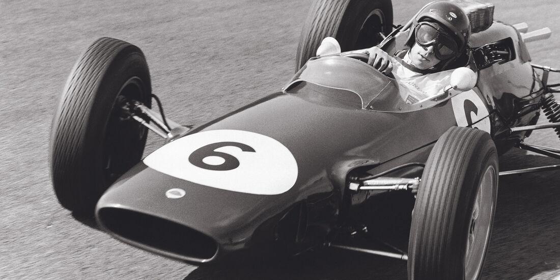 Lotus 25, Clark, Rennszene