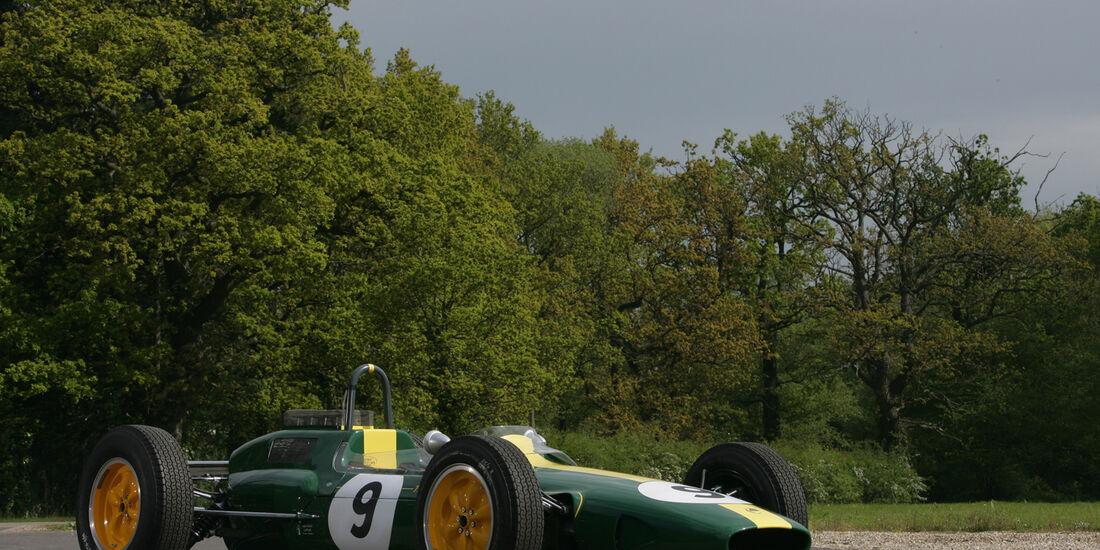 Lotus 25, Seitenansicht