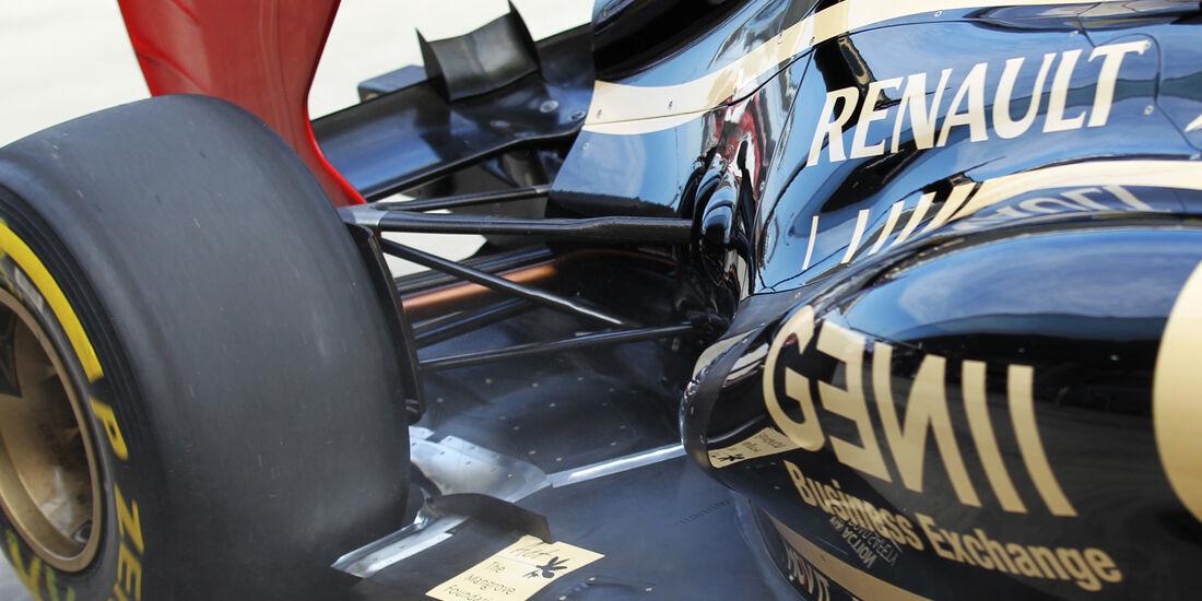 Lotus Auspuff GP Korea 2012