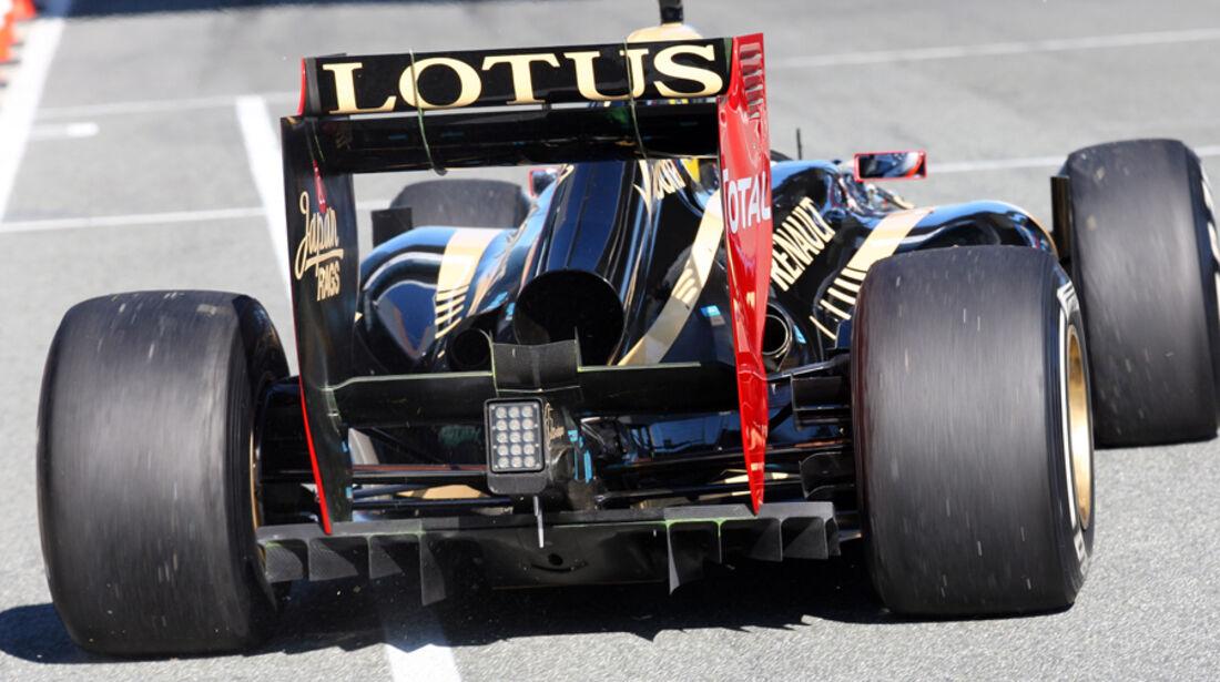 Lotus Auspuff Jerez Test 2012