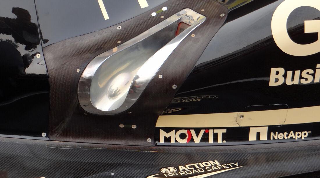 Lotus E20 Auspuff Technik 2012