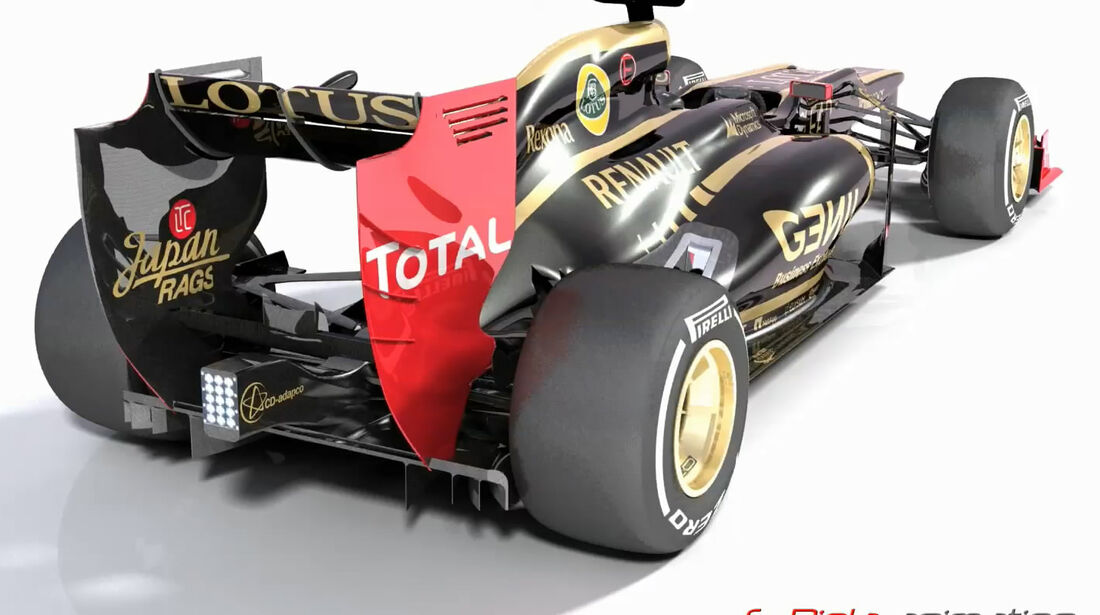 Lotus E20 Piola Technik 2012