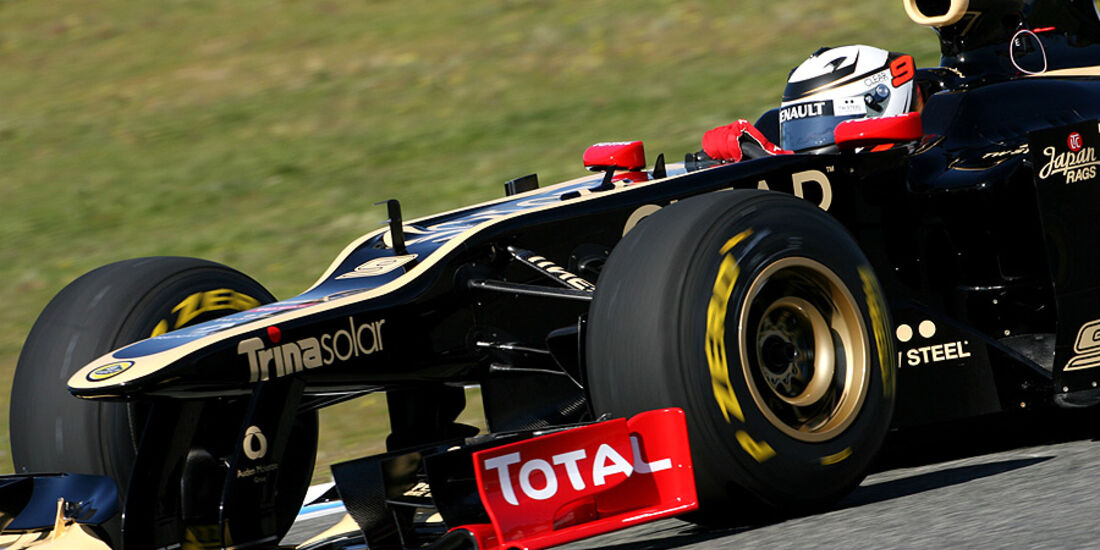 Lotus E20 Test Jerez