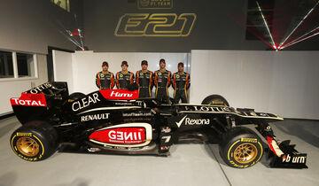 Lotus E21 Formel 1 2013 Präsentation