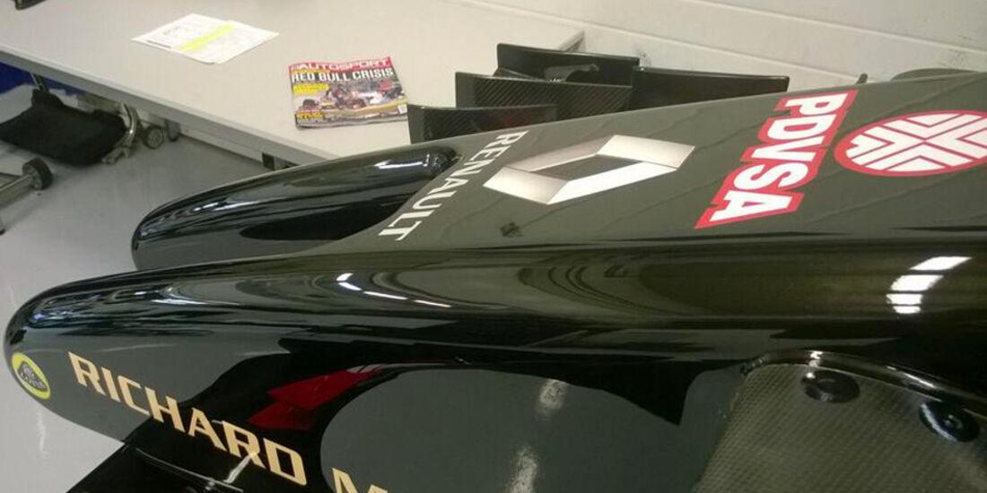 Lotus E22 - Jerez-Shakedown 2014